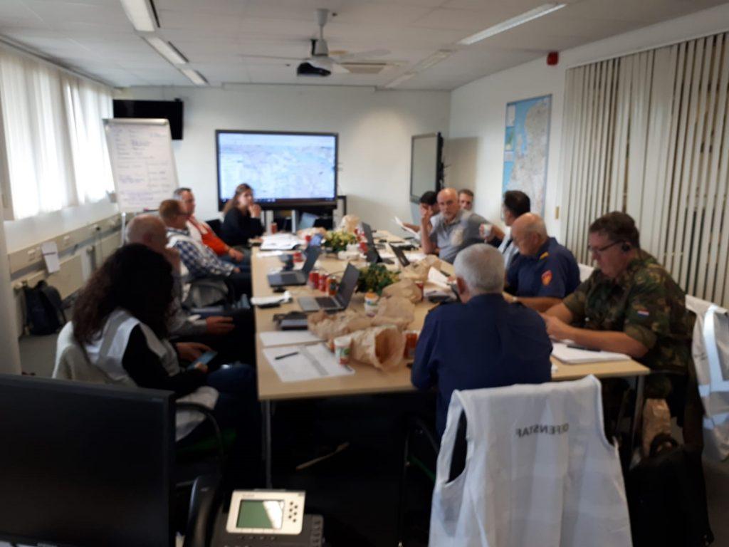 Driedaagse ROT-STAS oefening in Hilversum