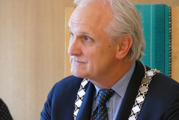 burgemeester Pieter Broertjes